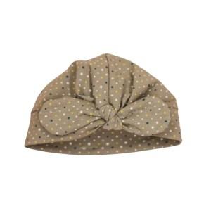 Turbanmütze – bunte Tupfen