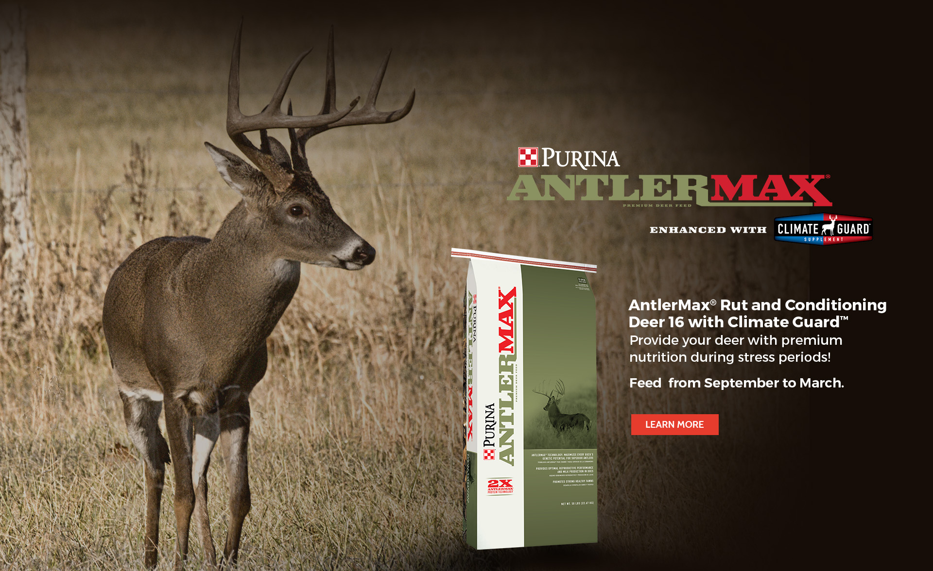Purina AntlerMax Rut & Conditioning