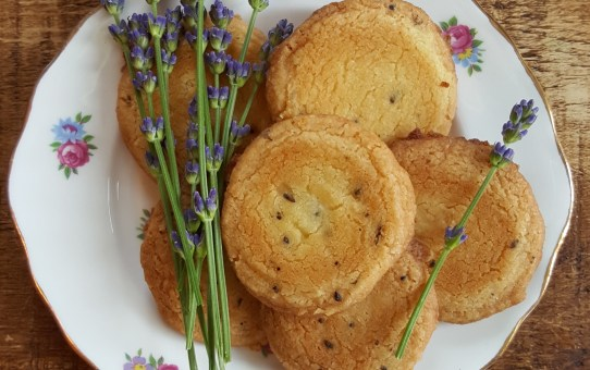 Seasonal Baking with Kids: Lavender Shortbread