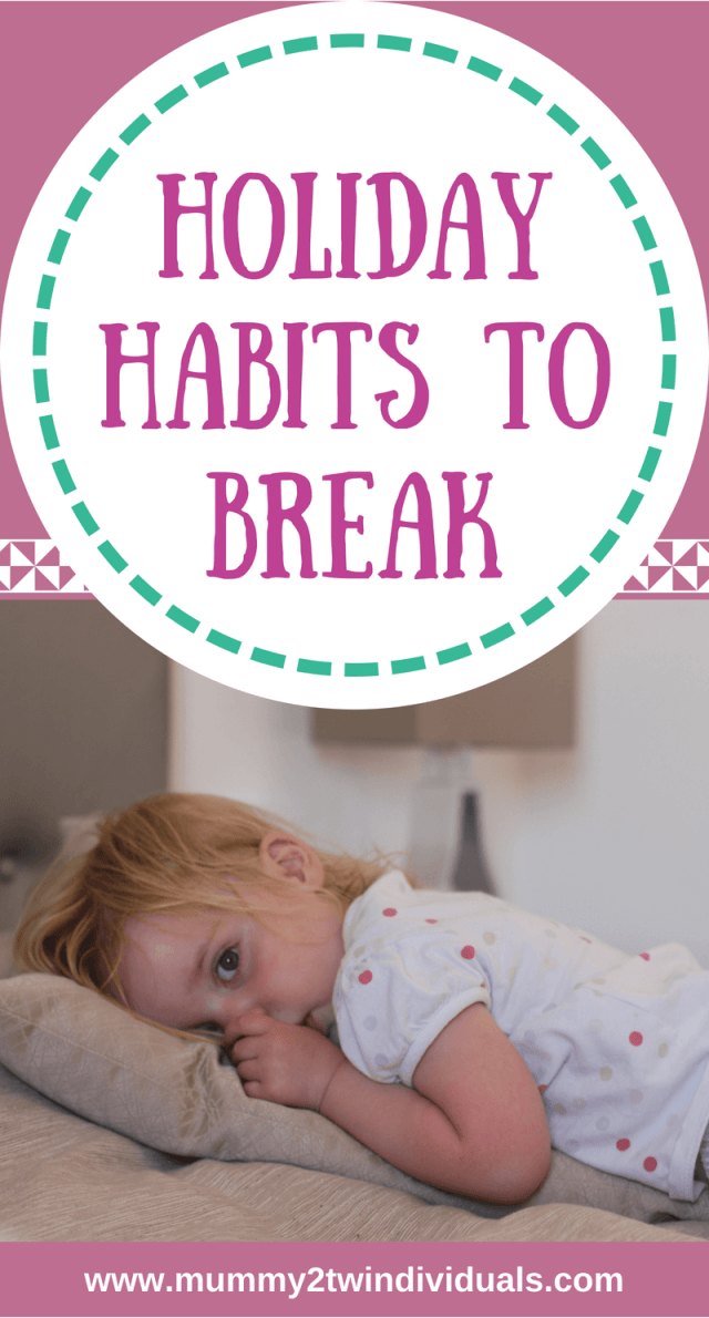 Now the summer is coming to an end, it's time to get back to routine and break some annoying habits. Here are three we are tackling.