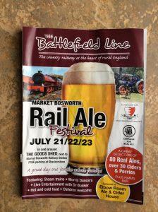 Rail ale festival