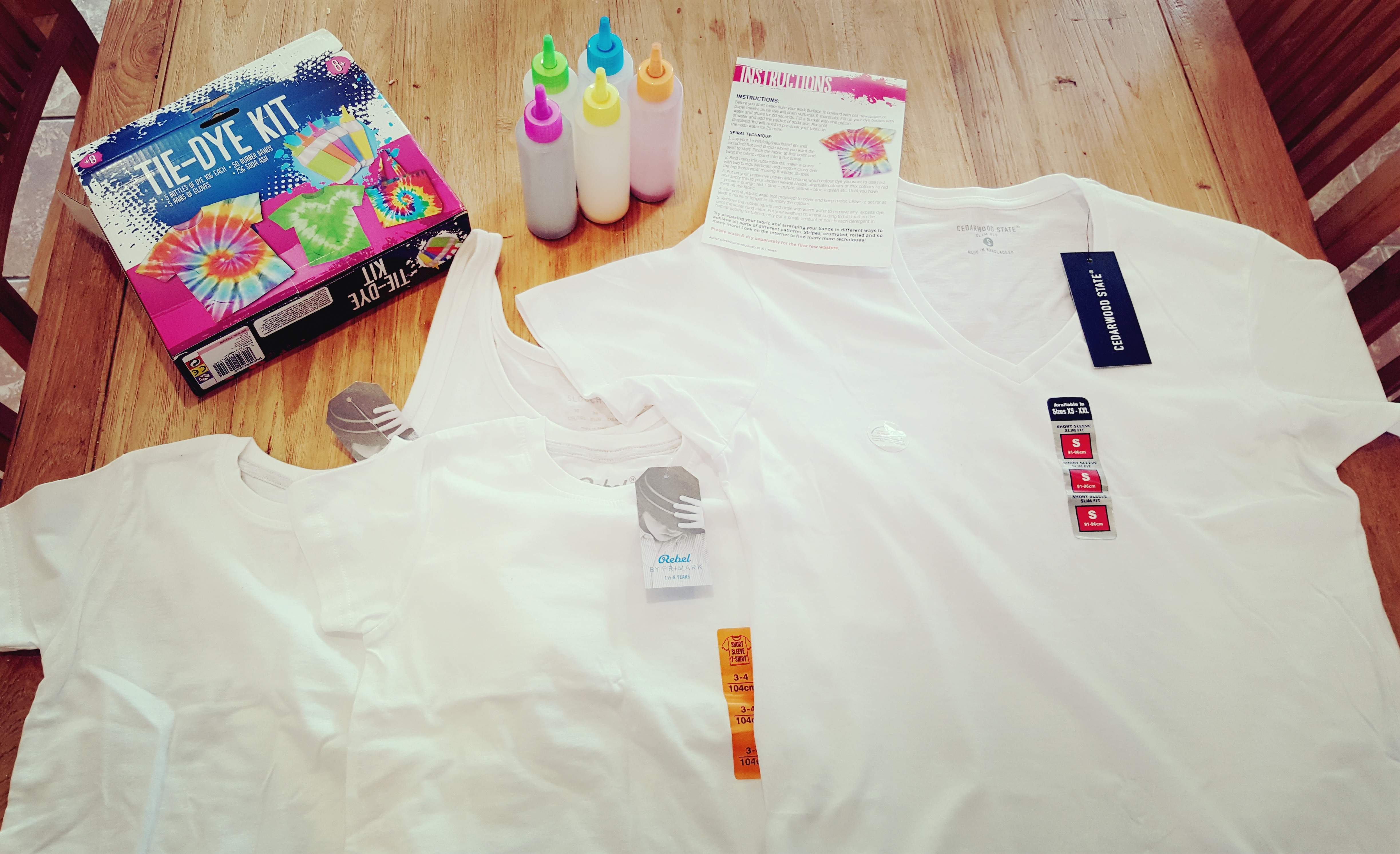 Family Tie Dye: Dos and Don'ts