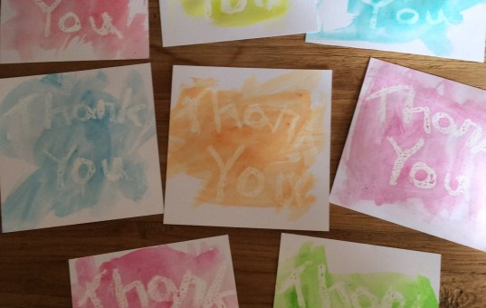 Fun Toddler Thank You Cards