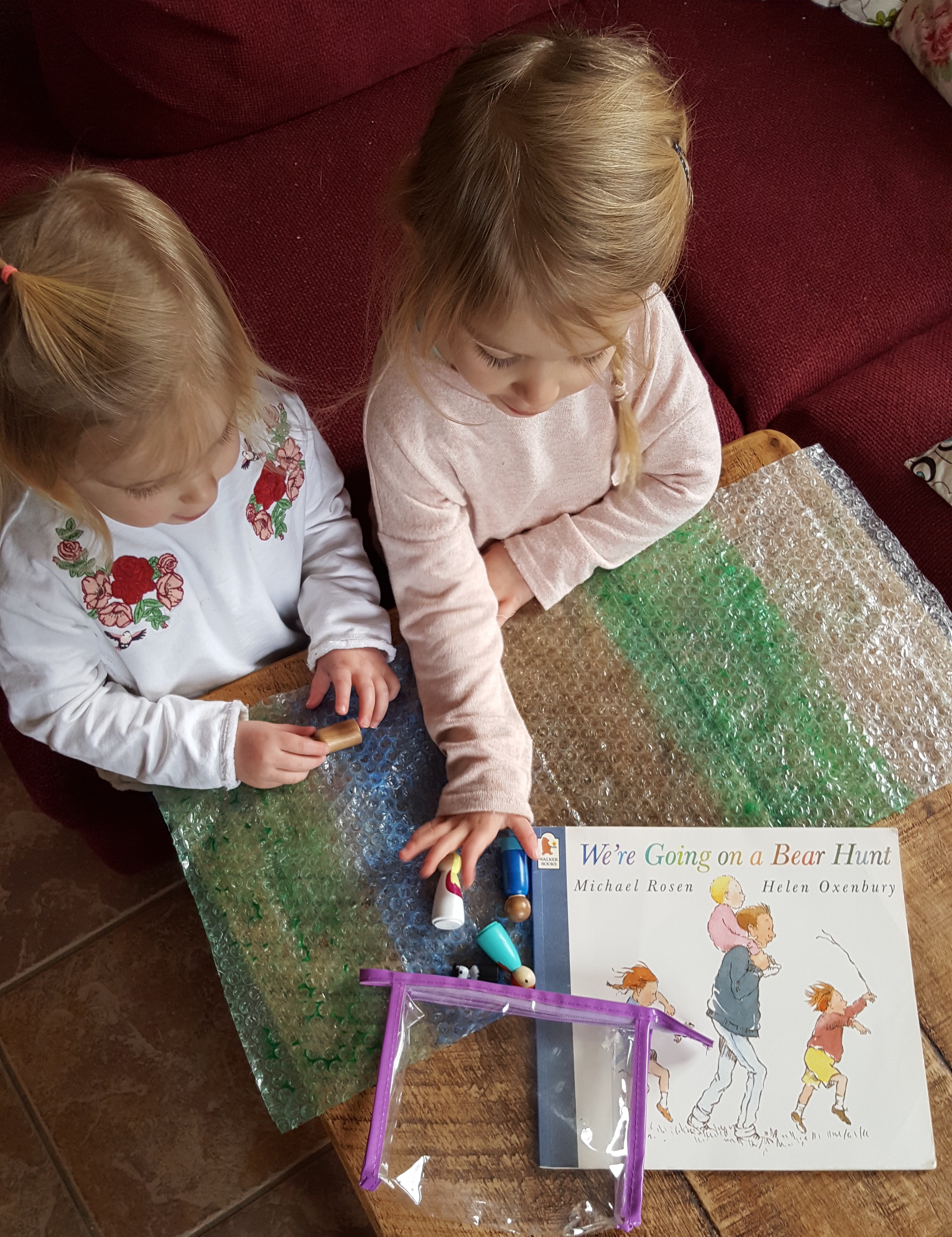 How peg dolls can help your child meet their Early Learning Goals