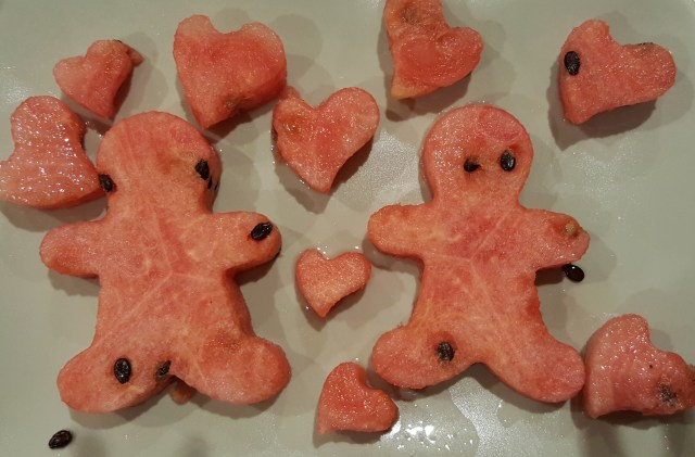 Watermelon hearts