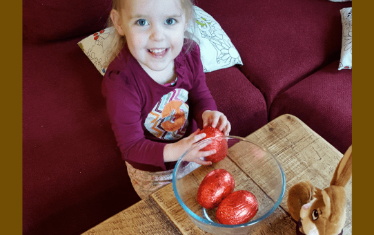 Four ways to steal your children's Easter eggs without them realising