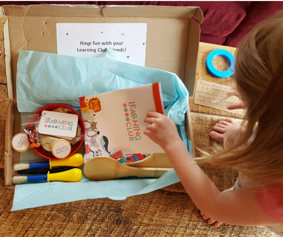 A Subscription Box with a Difference - The Learning Club