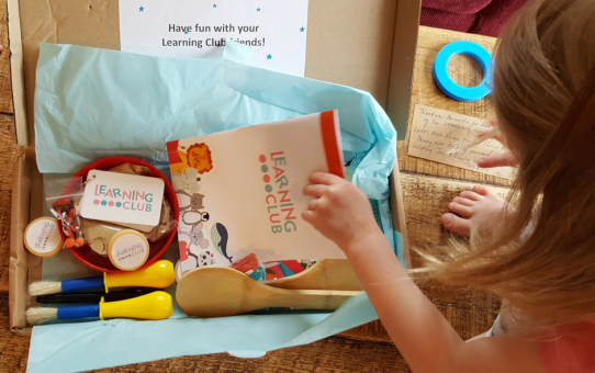 A Subscription Box with a Difference – The Learning Club