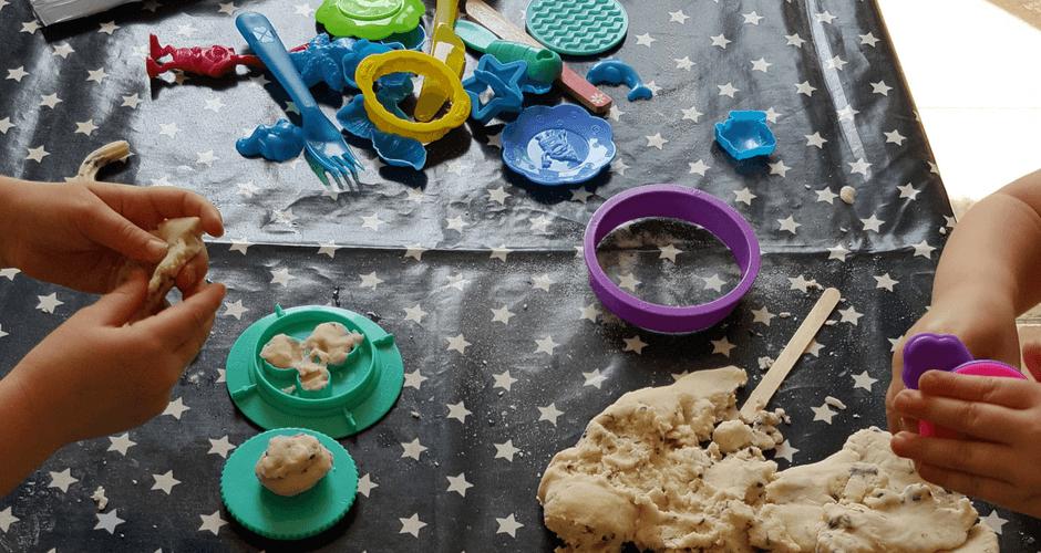 Calming Lavender Playdough: A Summer Activity