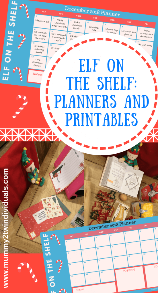 elf on the shelf planner and printables to make december magical and stress free