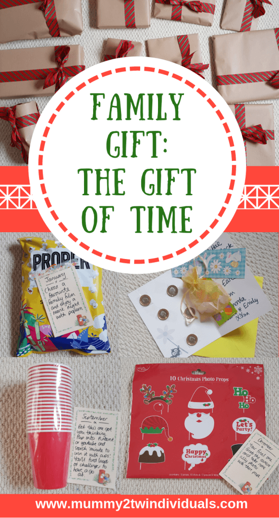 what to get for the family who has everything. The gift of time