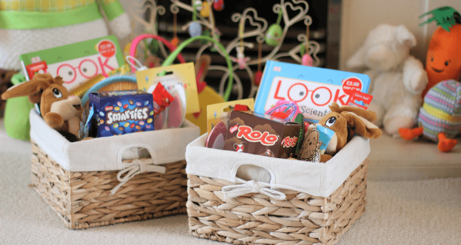 Easter Baskets for Twins