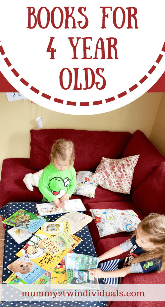 Over 20 suggestions for great books for a well read four year old.