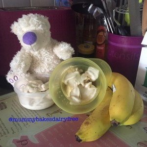 Dairy Free Banana Ice Cream