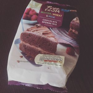 Tesco Free From Chocolate Cake Mix