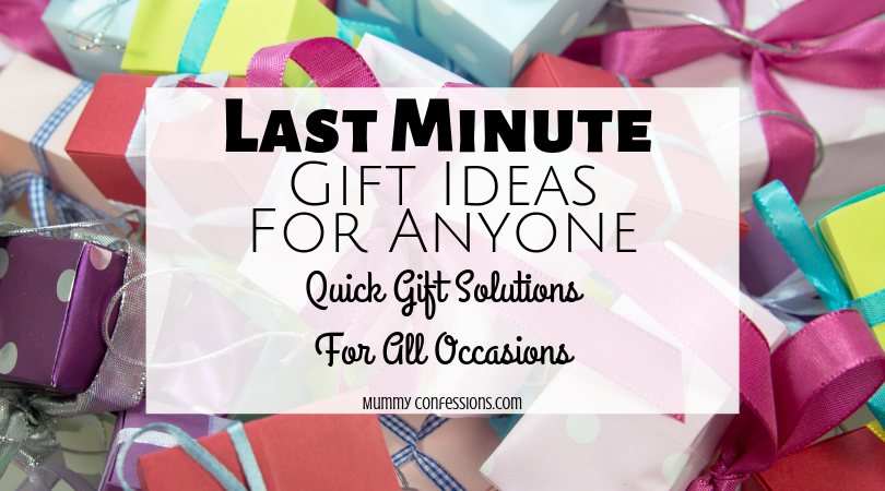 last minute gifts, gift ides for anyone, fast gift ideas