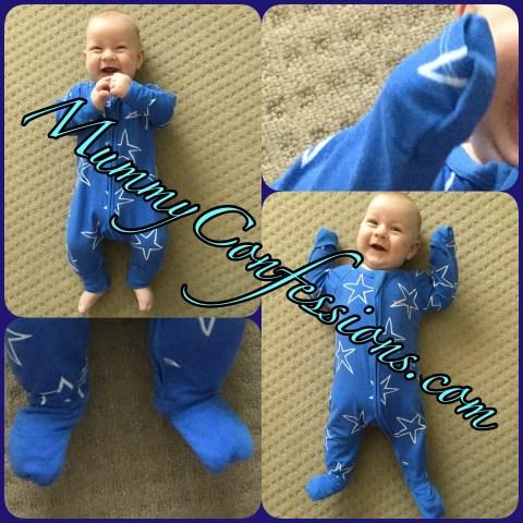 Bonds, bonds Wondersuit, Wondersuit, bodysuit, cute baby, baby, baby clothes, innovative clothes, fold over, mittens, pyjamas, pajamas, sleep, stars, clothes