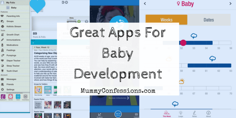 Great Apps for Baby Development: Tracking Milestones and Development