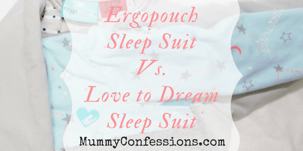 9dabf5ab17c6 Sleep Suit Comparison  ErgoPouch vs. Love to Dream • Mummy Confessions