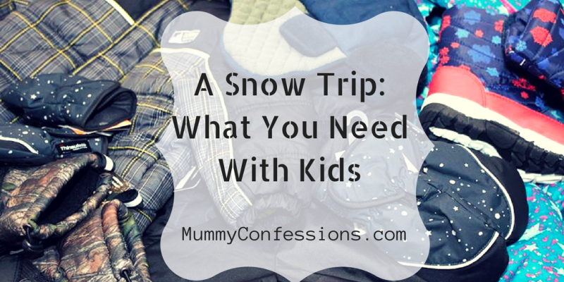 A Trip to the Snow: Essentials for Babies and Kids (And Helpful Resources for Road Trips)