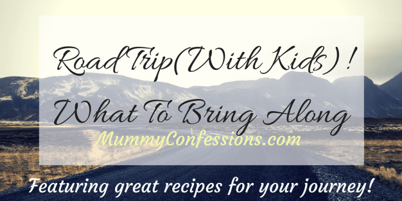 Road Trip (With Kids)! What to Bring Along