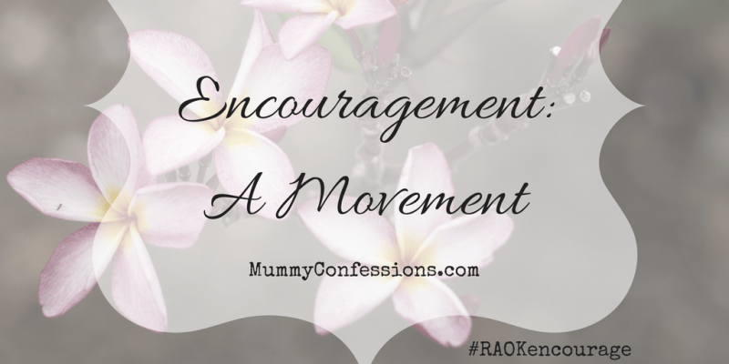 Encouragement: A Movement