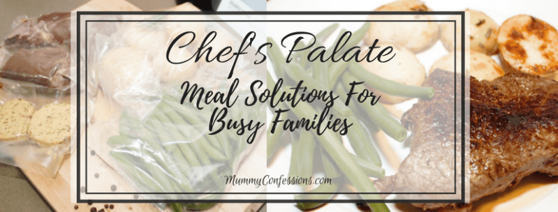 Chef's Palate: A Ready to Prepare Dinner Option