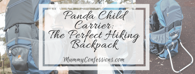 Panda Child Carrier: Lightweight for You, Comfortable For Them