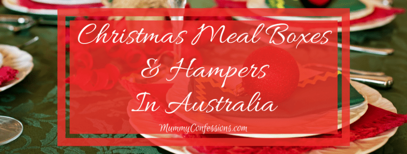 Christmas Meal Boxes & Hampers In Australia