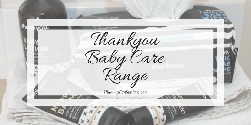 Thankyou Brand Baby Care Range