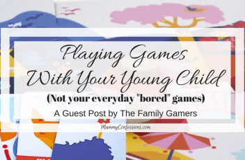 Playing Games With Your Young Child