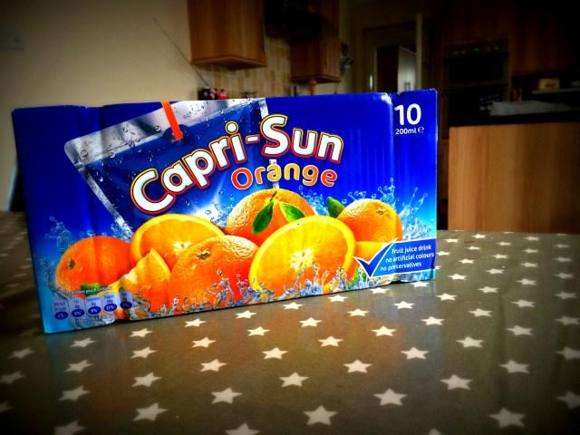 capri sun in packaging photo
