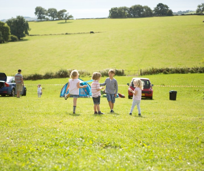 My top tips for camping with small children