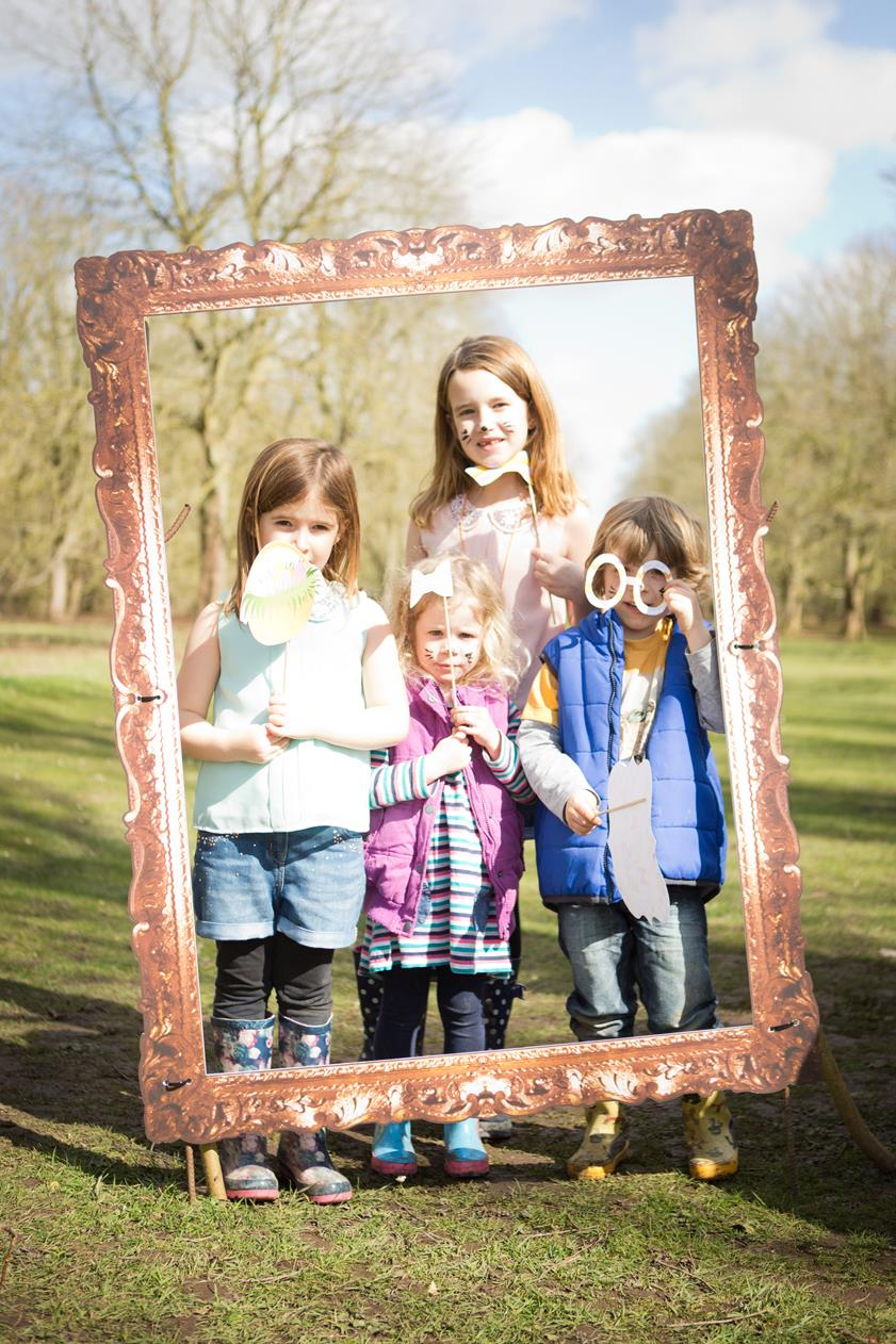 The Cadburys Easter Egg hunt at Anglesey Abbey