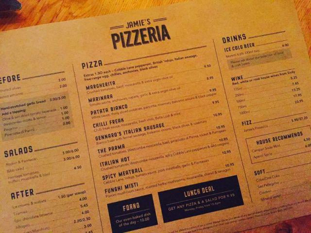 PizzeriaMenu