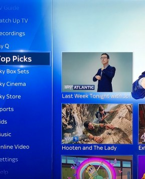 Making the move over to Sky Q