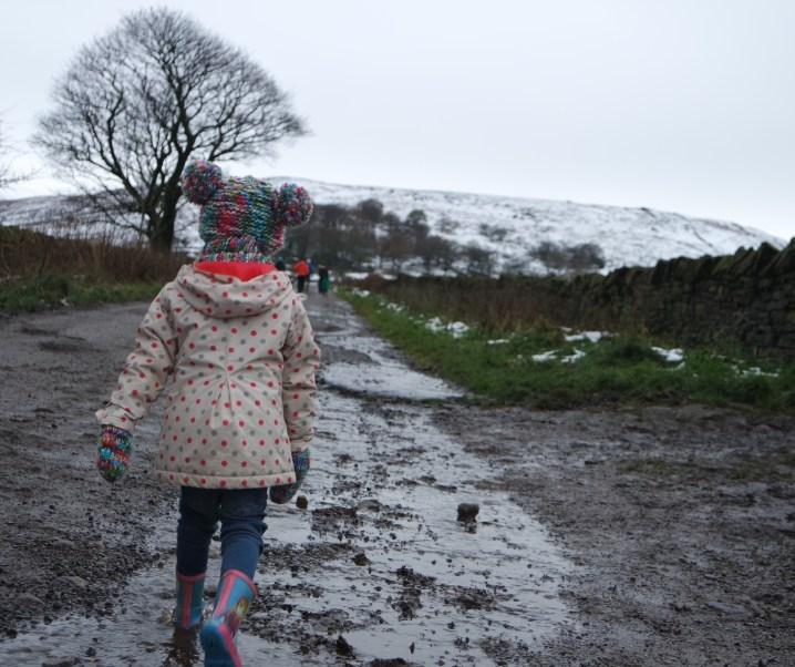 A snowy November family break in West Yorkshire
