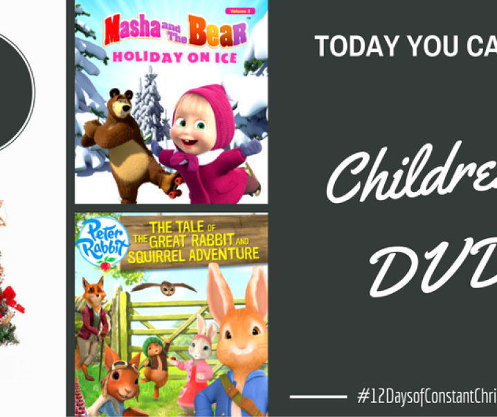 Day 1 – Win Children's Christmas DVDs #12DaysofConstantChristmas