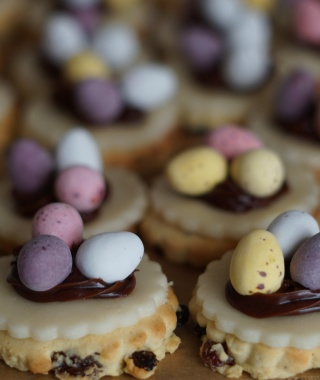 Dr Oetker sugar and spice Easter nest biscuits #recipe