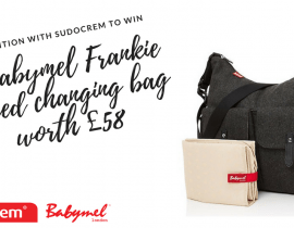 Win a Babymel Frankie Tweed Changing Bag