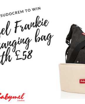 Win a Babymel Frankie Tweed Changing Bag