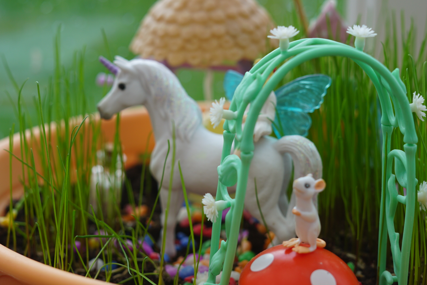 My Unicorn garden – create your own garden #NationalUnicornDay