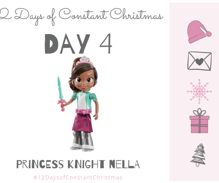 Win Knight Nella doll #12DaysofConstantChristmas Day 4