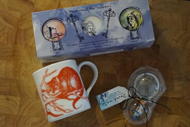 Whittard Alice in Wonderland gift set