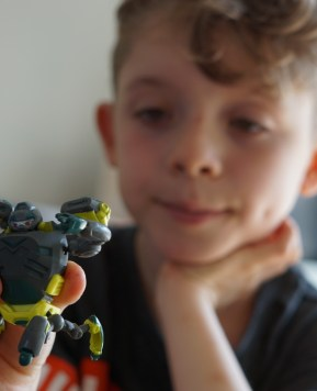 Ready2Robot movie night and toy review
