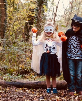 #HariboShareTheScare Making our very own Halloween outfits