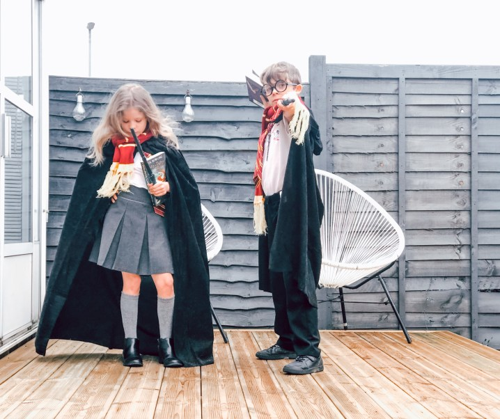 How to involve your kids in making their costumes and props