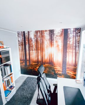 Our affordable office conversion – before and after