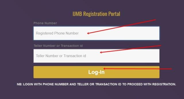 IJMB Application