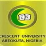 My Logo :Crescent University Post UTME Form